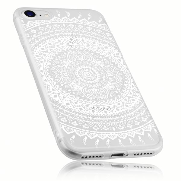 TPU Hülle transparent Motiv Mandala für Apple iPhone 8 / 7