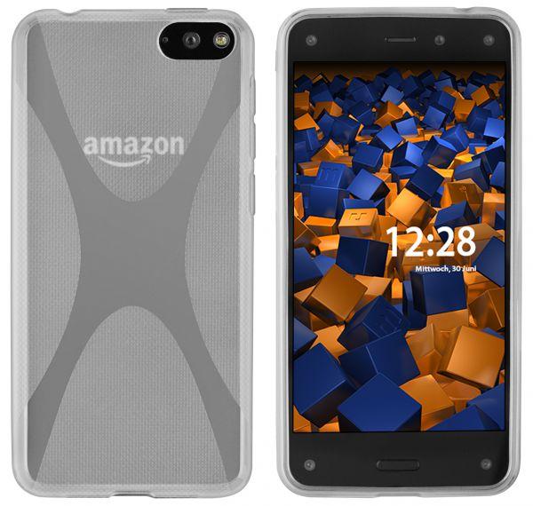 TPU Hülle X-Design weiß transparent für Amazon Fire Phone