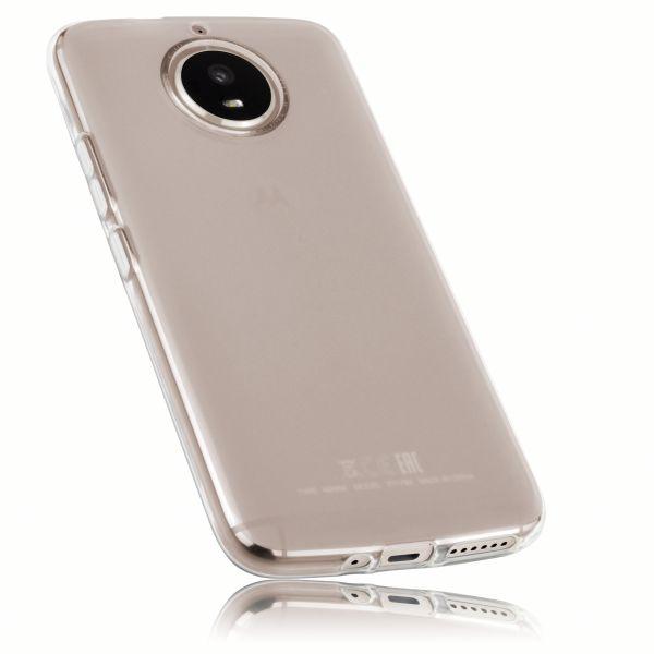 TPU Hülle weiß transparent für Motorola Moto G5S