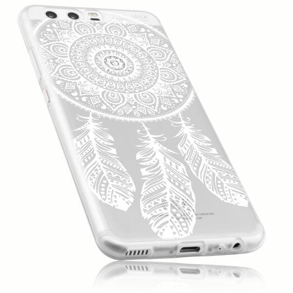 TPU Hülle Ultra Slim transparent Motiv Traumfänger für Huawei P10