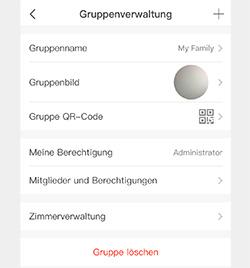 Gruppenverwaltung Timer der mumbi WLAN-Steckdosen AppTimer der mumbi WLAN-Steckdosen App