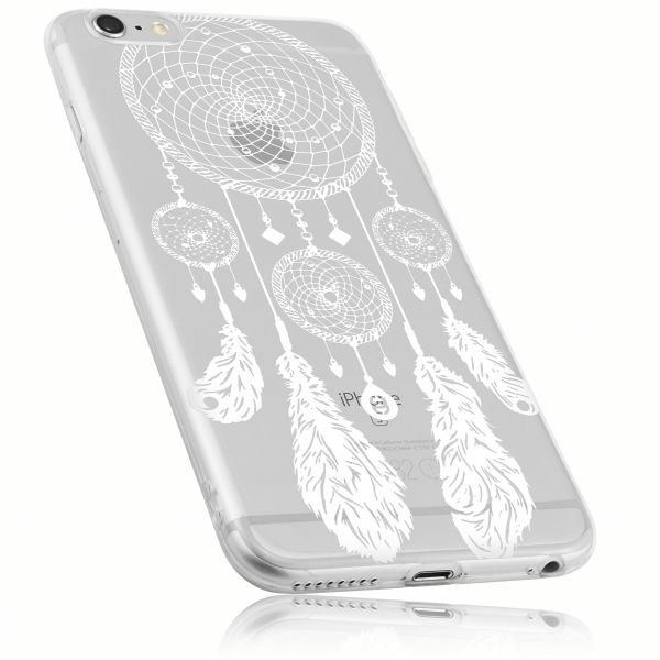 TPU Hülle transparent Motiv Traumfänger für Apple iPhone 6 Plus / 6s Plus