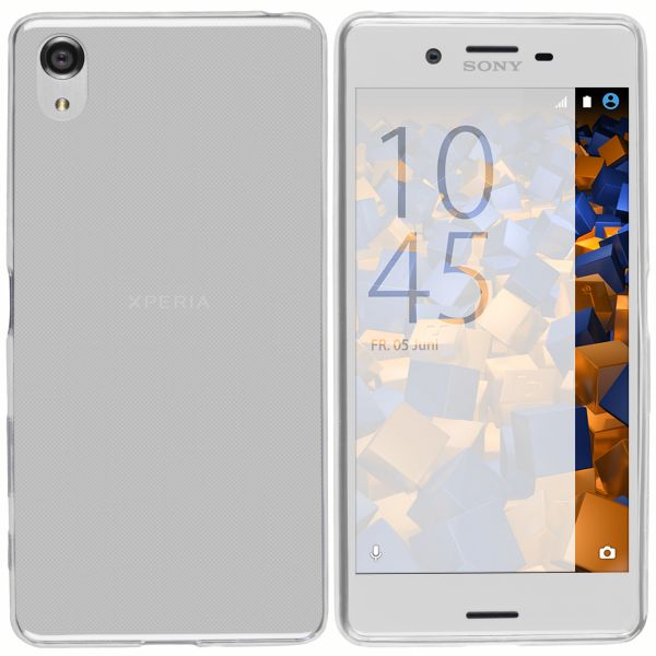TPU Hülle Ultra Slim transparent für Sony Xperia X Performance