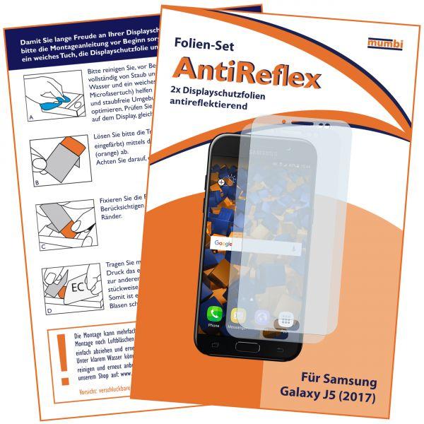 Displayschutzfolie 2 Stck. AntiReflex für Samsung Galaxy J5 (2017)