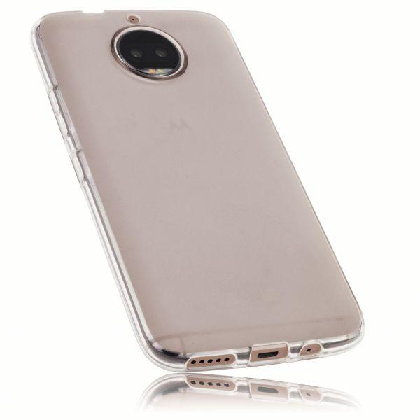 TPU Hülle weiß transparent für Motorola Moto G5S Plus