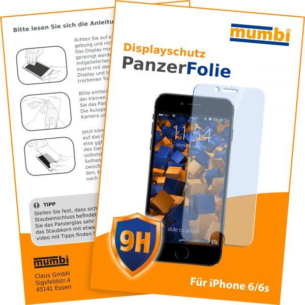 3D Touch Panzerglasfolie Hartglas 9H für Apple iPhone 6 / 6s