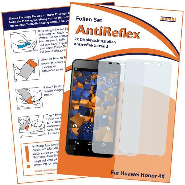 Displayschutzfolie 2 Stck. AntiReflex für Huawei Honor 4X