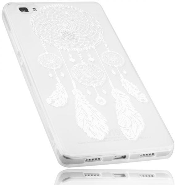 TPU Hülle transparent Motiv Traumfänger für Huawei P8 Lite (2015)