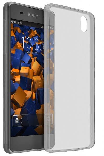TPU Hülle Ultra Slim schwarz transparent für Sony Xperia XA