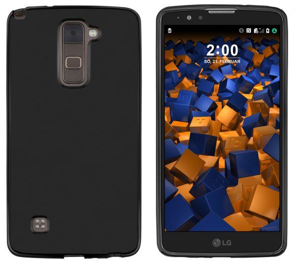 TPU Hülle schwarz für LG Stylus 2 Plus / Stylus 2