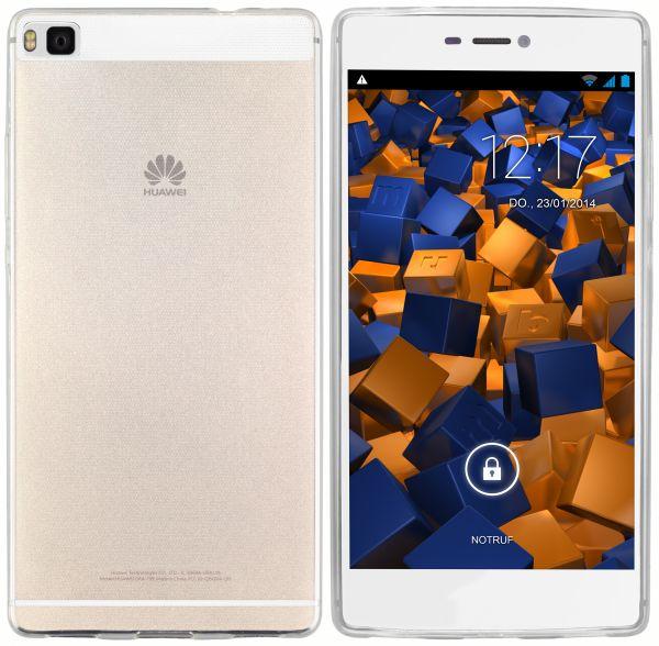 TPU Hülle Ultra Slim transparent für Huawei P8