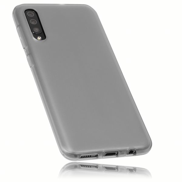 TPU Hülle schwarz transparent für Samsung Galaxy A50