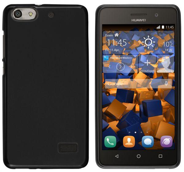 TPU Hülle schwarz für Huawei G Play Mini