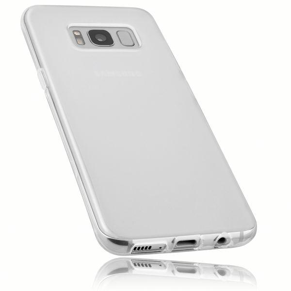 TPU Hülle weiß transparent für Samsung Galaxy S8