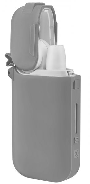 Silikon Schutzhülle grau für IQOS Pocket Charger