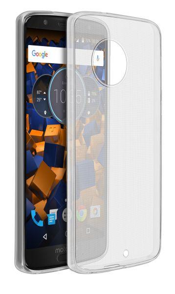 TPU Hülle Ultra Slim transparent für Motorola Moto G6