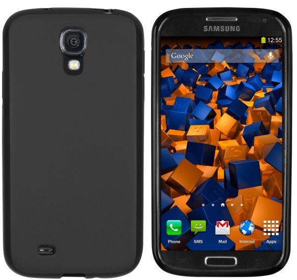 TPU Hülle schwarz für Samsung Galaxy S4