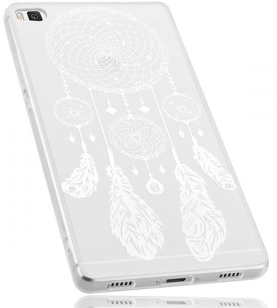 TPU Hülle transparent Motiv Traumfänger für Huawei P8