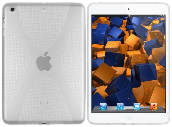TPU Hülle X-Design transparent weiß für Apple iPad Mini 1