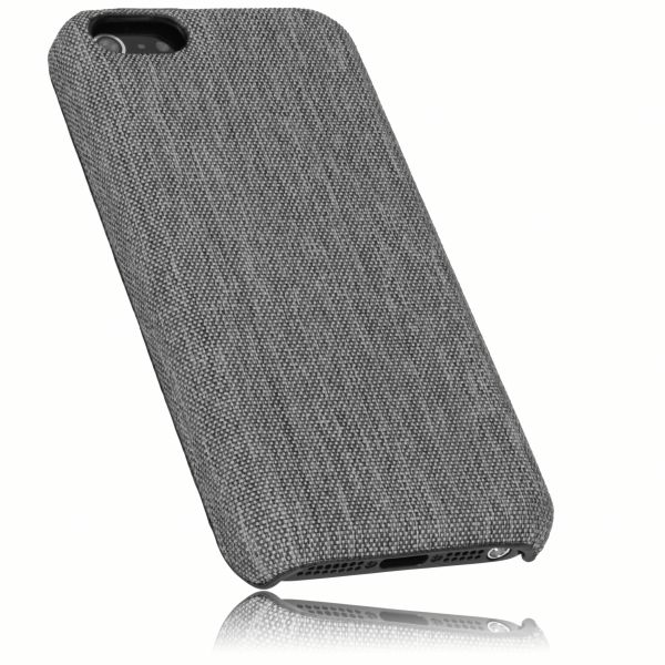 Hard Case Hülle fineline grau für Apple iPhone SE / 5 / 5s