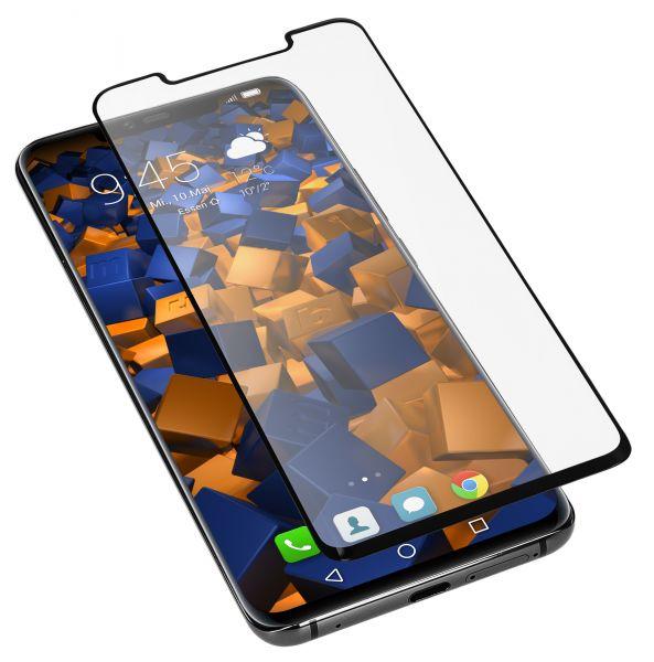 3D Panzerglasfolie Full Cover 6H transparent für Huawei Mate 20 Pro