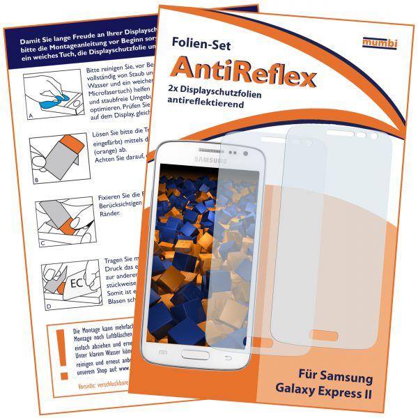 Displayschutzfolie 2 Stck. AntiReflex für Samsung Galaxy Express 2
