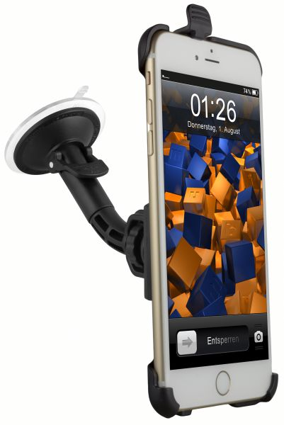 KFZ Halterung Schale aufstellbar für Apple iPhone 6 Plus / 6s Plus