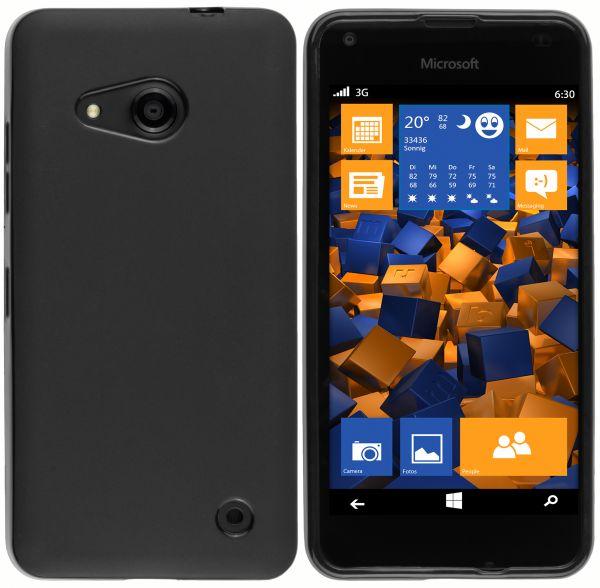TPU Hülle schwarz für Microsoft Lumia 550