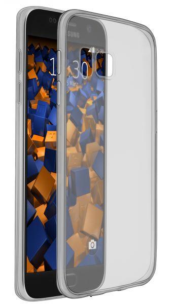 TPU Hülle Ultra Slim schwarz transparent für Samsung Galaxy S7