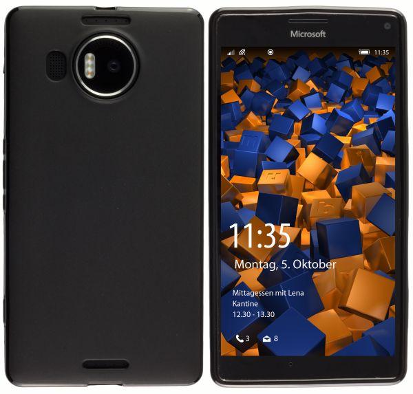 TPU Hülle schwarz für Microsoft Lumia 950 XL