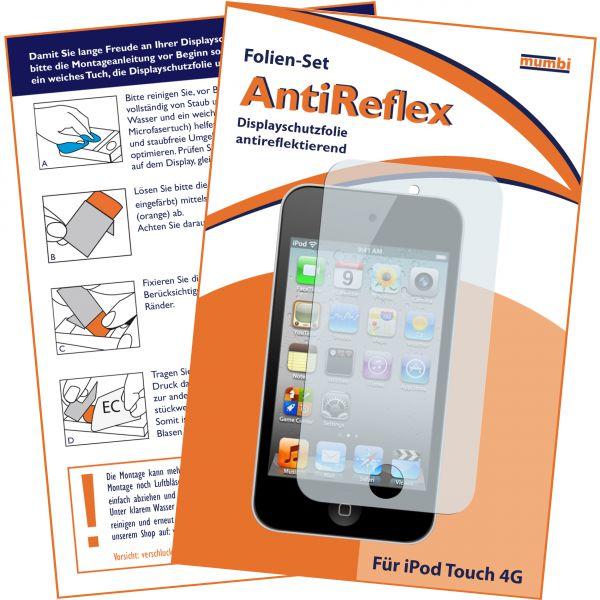 Displayschutzfolie AntiReflex für Apple iPod Touch 4G