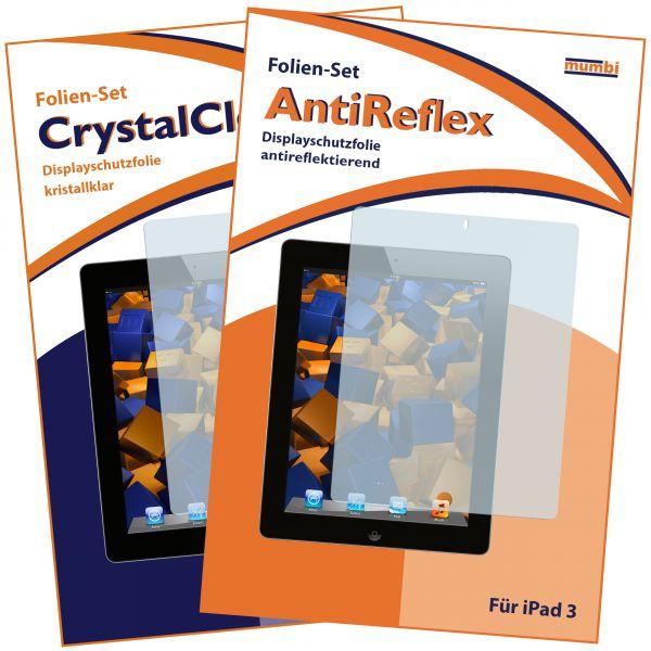 Displayschutzfolie 2 Stck. AntiReflex für Apple iPad 2 / iPad 3 / iPad 4