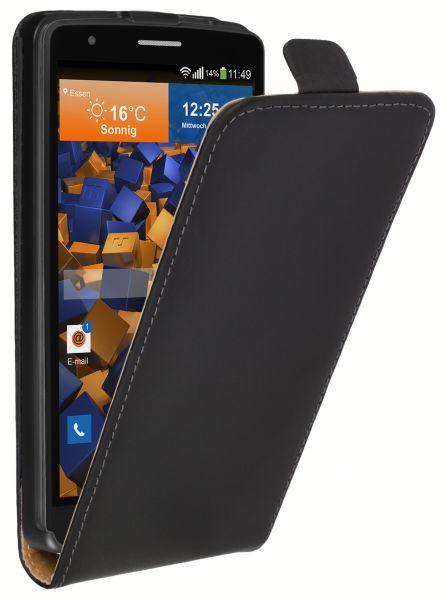 Flip Case Tasche schwarz für LG G3s