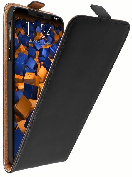 Flip Case Tasche schwarz für Apple iPhone XS Max