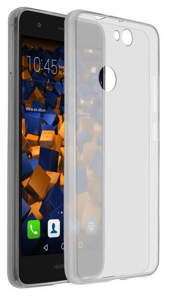 TPU Hülle Ultra Slim schwarz transparent für Huawei Nova