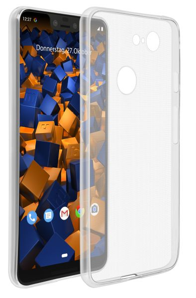 TPU Hülle Ultra Slim transparent für Google Pixel 3 XL