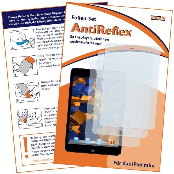 Displayschutzfolie 3 Stck. AntiReflex für Apple iPad Mini / iPad Mini 2 / iPad Mini 3