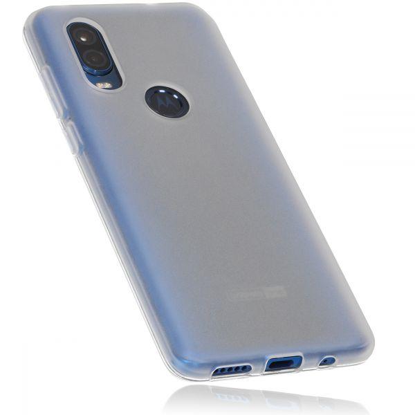 TPU Hülle weiß transparent für Motorola One Vision