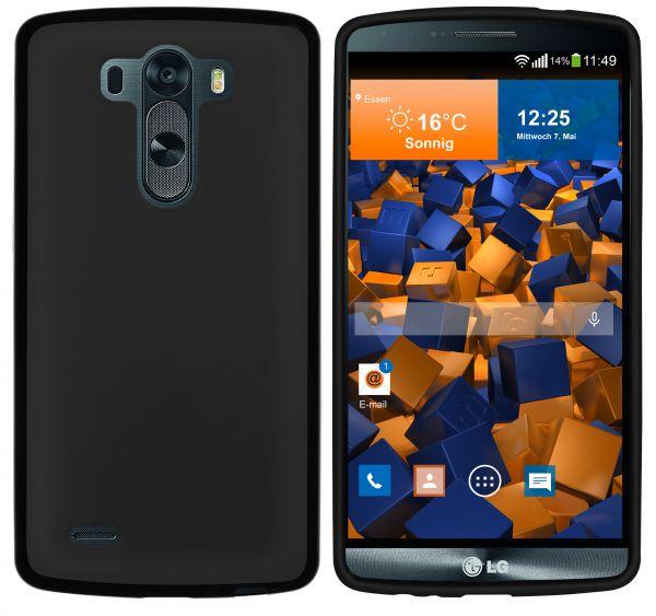 TPU Hülle schwarz für LG G3