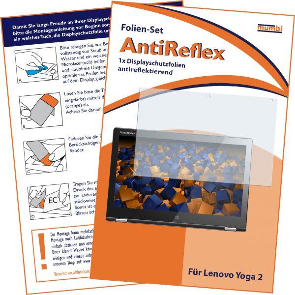 Displayschutzfolie AntiReflex Lenovo Yoga 2 (11,6 Zoll)