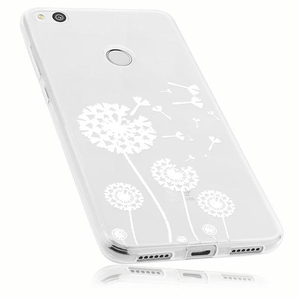 TPU Hülle transparent Motiv Pusteblume für Huawei P8 Lite (2017)