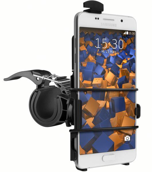 Fahrrad-/Motorradhalterung schwarz für Samsung Galaxy A5 (2016)