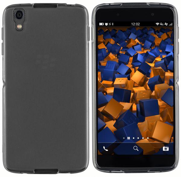 TPU Hülle schwarz transparent für Blackberry DTEK50