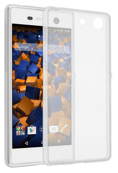 TPU Hülle Ultra Slim transparent für Sony Xperia M5