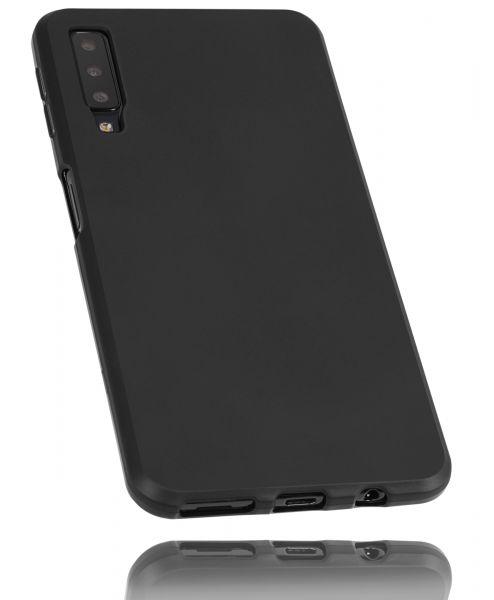TPU Hülle schwarz für Samsung Galaxy A7 (2018)