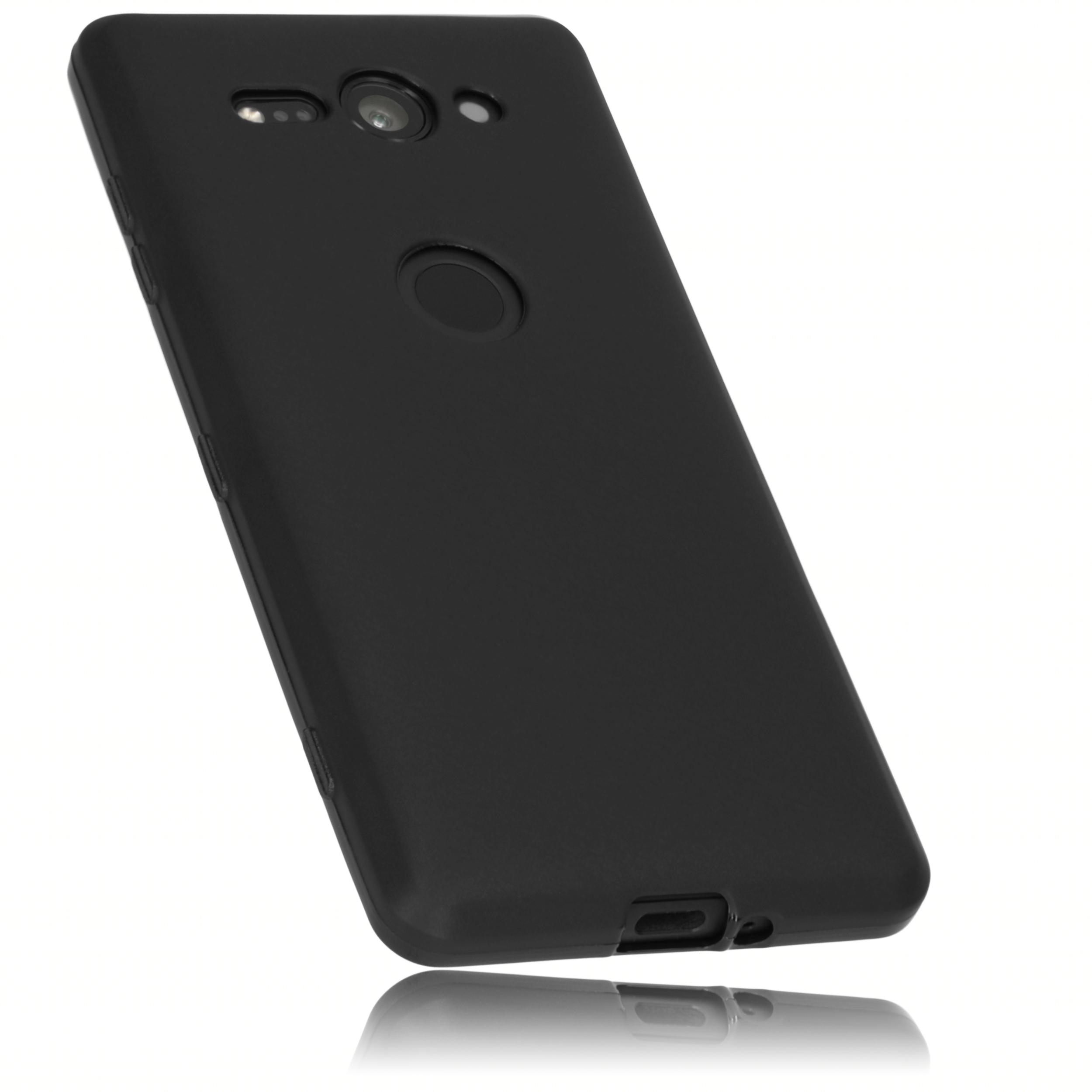 1 mumbi O1 Sony Xperia XZ2 pact TPU Case schwarz sw