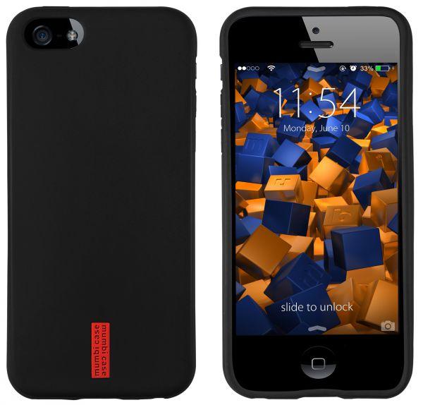 TPU Hülle schwarz für Apple iPhone 5c