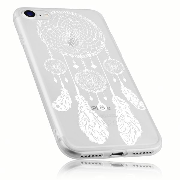 TPU Hülle transparent Motiv Traumfänger für Apple iPhone 8 / 7