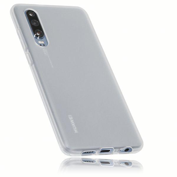 TPU Hülle weiß transparent für Huawei P30
