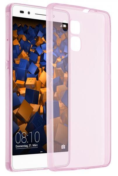 TPU Hülle Ultra Slim rosa transparent für Huawei Honor 7 / Honor 7 Premium